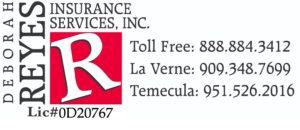 Deborah Reyes Insurance Logo